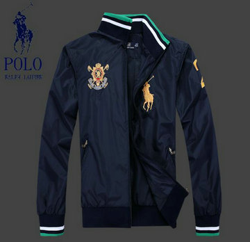 jacket polo ralph lauren de nouveau couronne lion big pony gold blue green